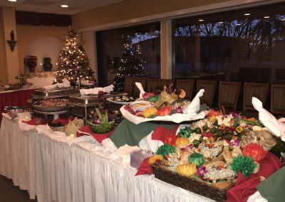 Egg Nog Party Buffet